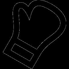 wewalk boxing glove icon black